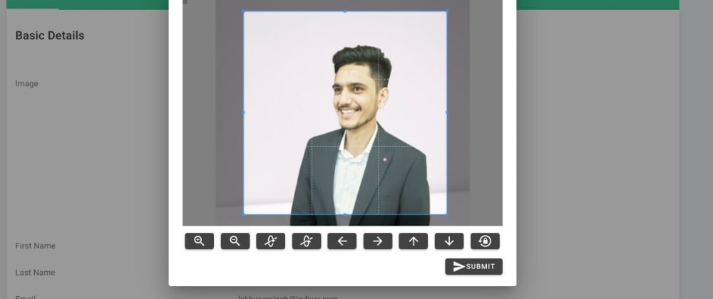 Cover image for Editing Images Before Uploading in Vue JS Project