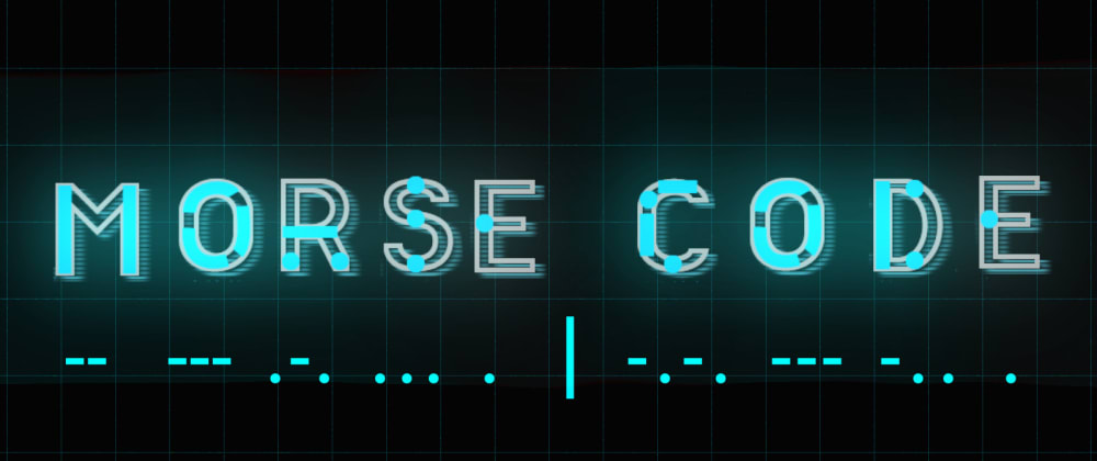 Cover image for Morse code in Raspberry PI