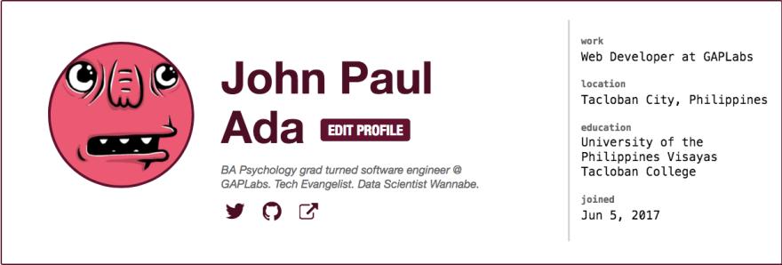 johnpaulada Dev.to profile