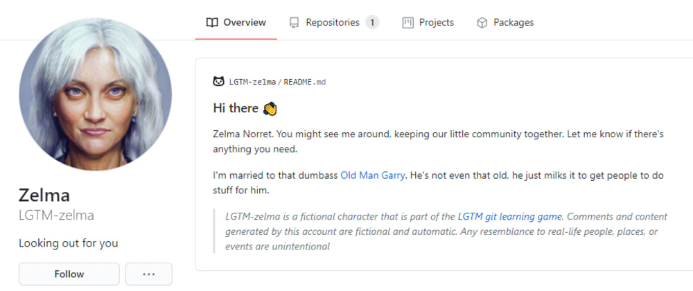 Cover image for LGTM Devlog 36: Character profiles! On GitHub