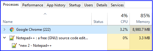 my task manager