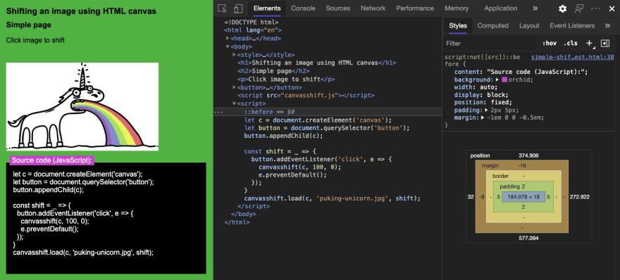 Adding a description to the code block