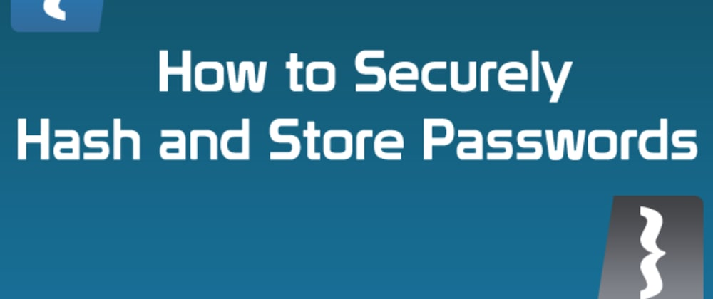Cover image for How to properly store a password in the Database