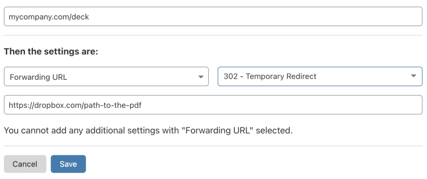 Path redirect with Cloudflare