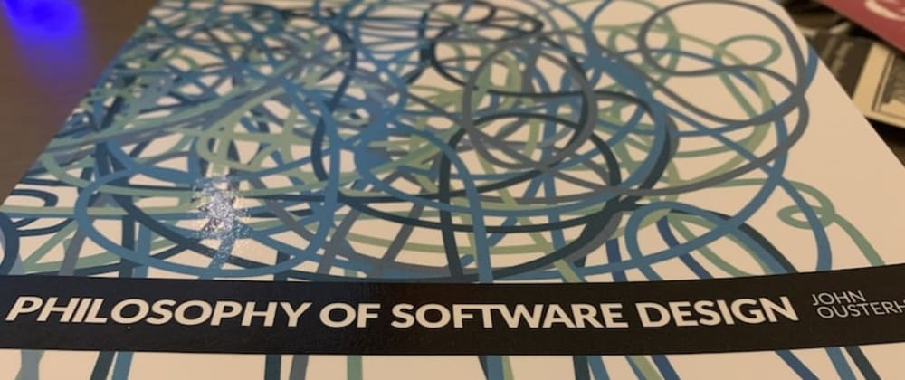Cover image for Book notes: A Philosophy of Software Design