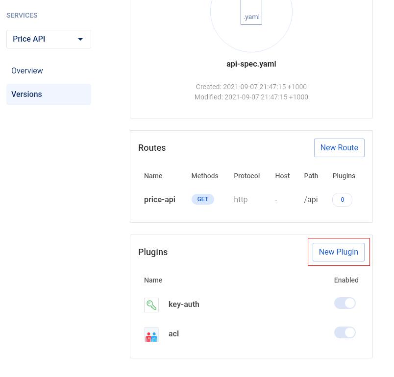 Add a new plugin to the gateway