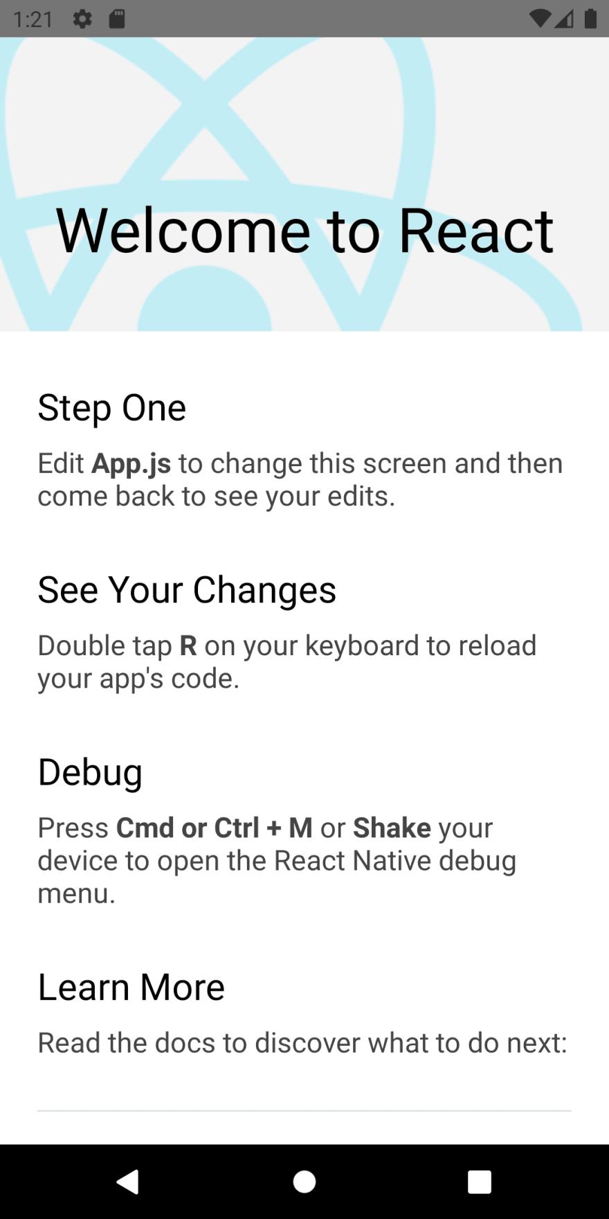 Demo App of npx init