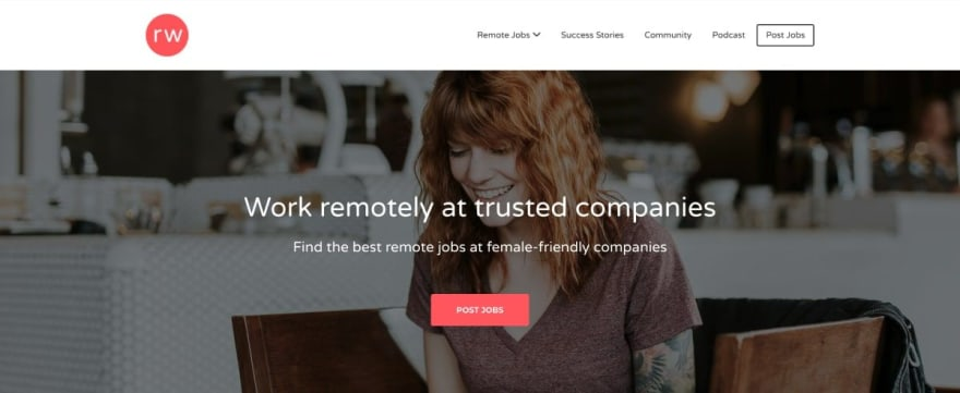 RemoteWoman website