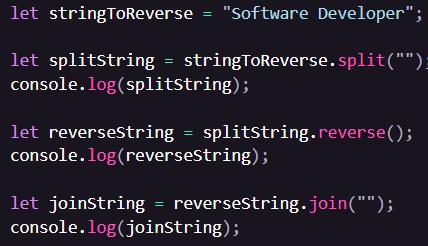 split().reverse().join()