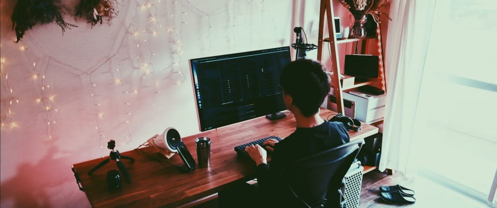Cover image for A solo app developer's dream desk setup (Late 2020)