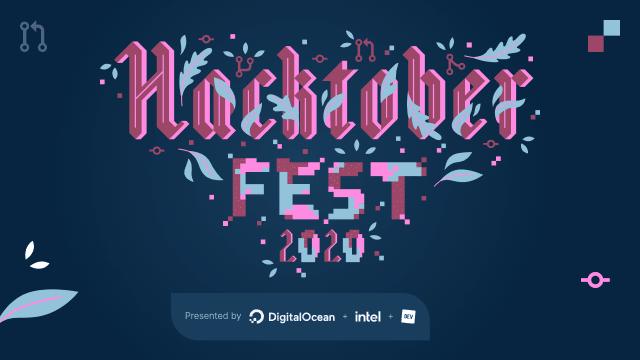 Hacktoberfest 2020 banner