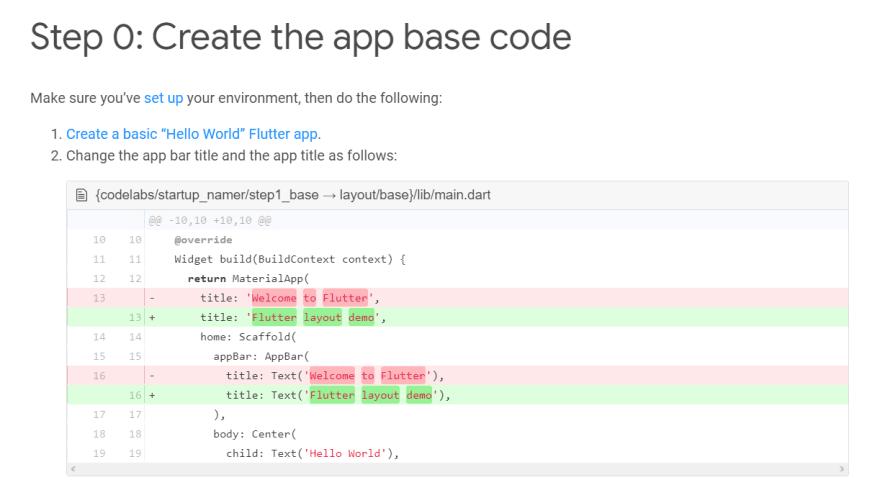 Create the app basecode