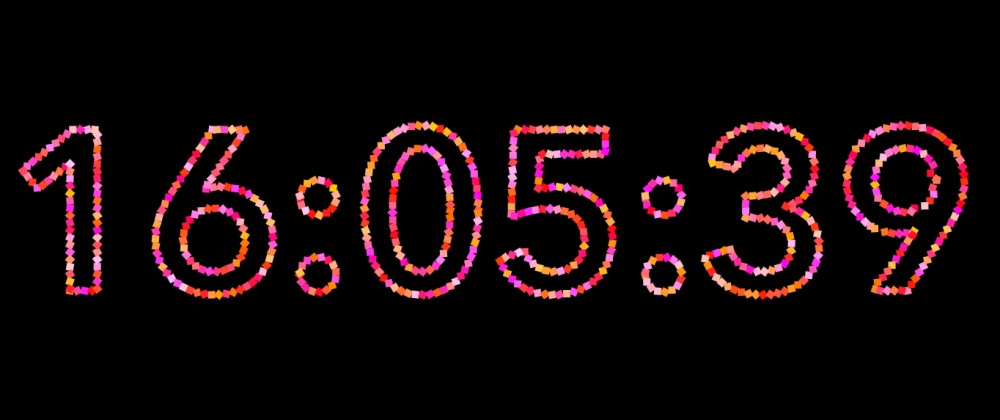 Cover image for P5.JS: Interactive Clock