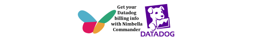 The banner to introduce the Nimbella serverless cloud Slack platform that will let users get their Datadob billing info.
