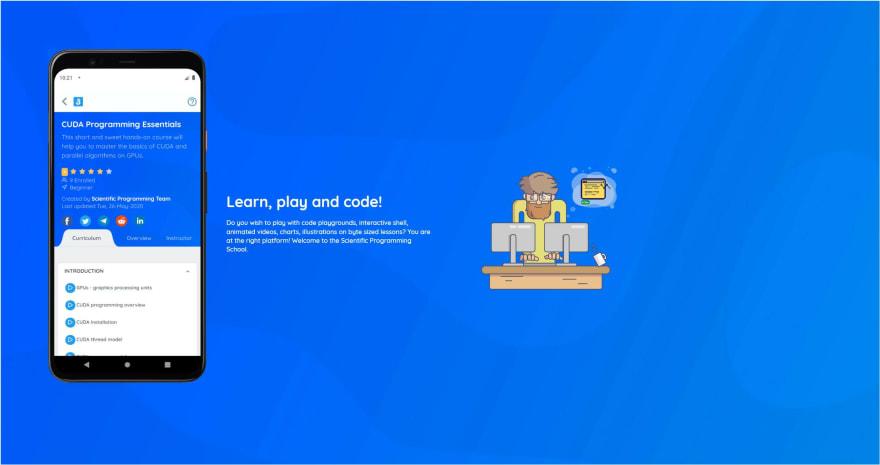 Scientific Programming School - Website