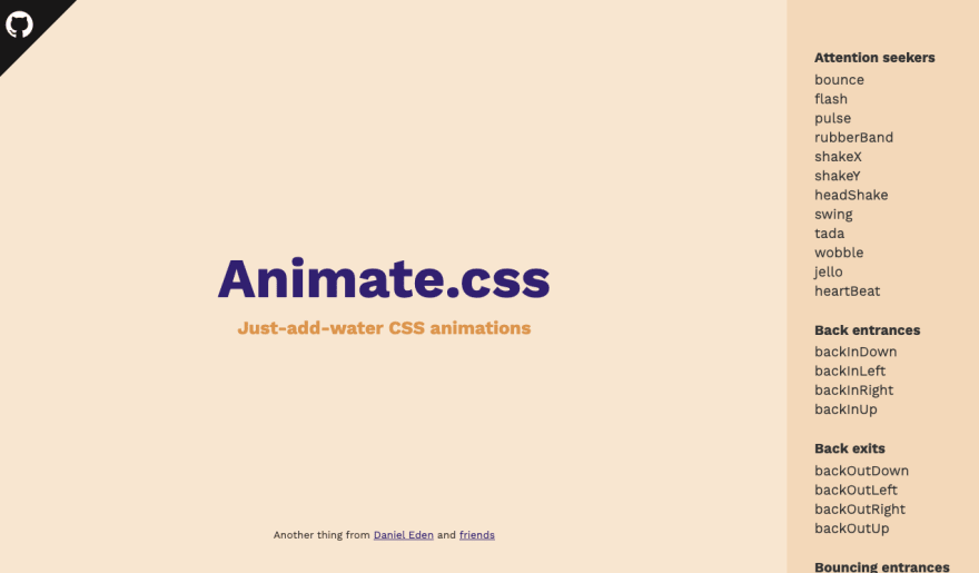 Animate CSS