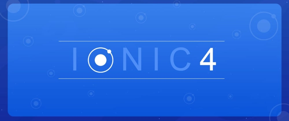 Cover image for How to create an Ionic 4 app-For beginners