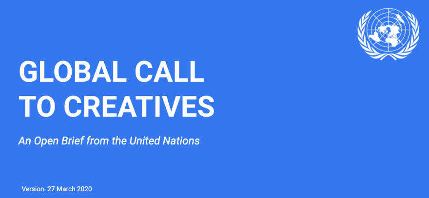 United Nations: Global Call to Creatives