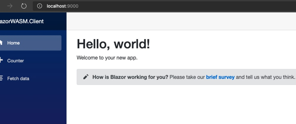 Cover image for Blazor WASM with Caddy 2