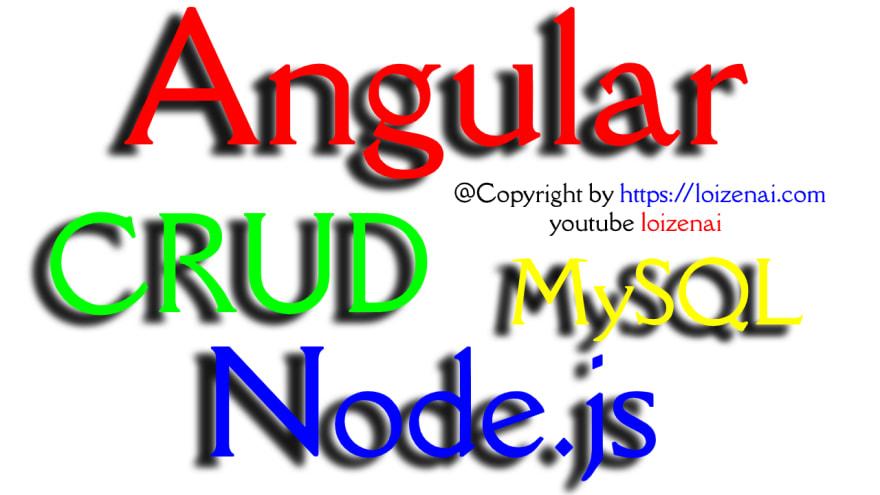 Angular 11 Node.js Mysql Crud Example