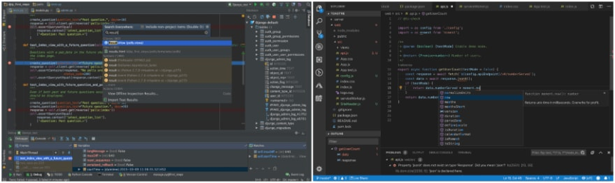 PyCharm vs Visual Studio