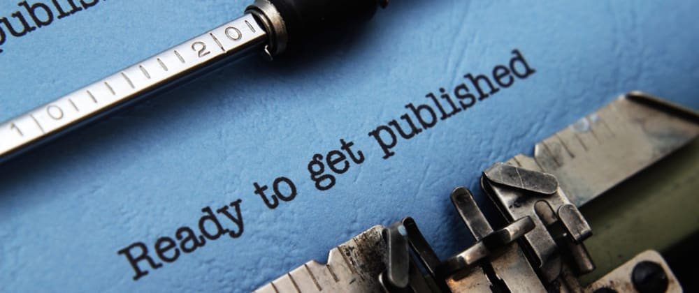 Cover image for Do you keep a backlog of 'ready-to-publish' articles?