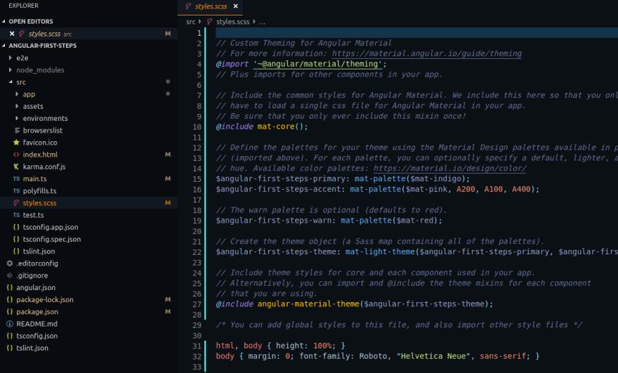 First steps with Angular 8 with angular-cli and Angular