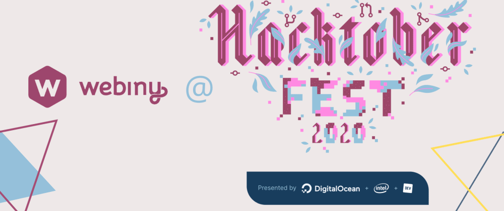 Cover image for Webiny Hacktoberfest 2020