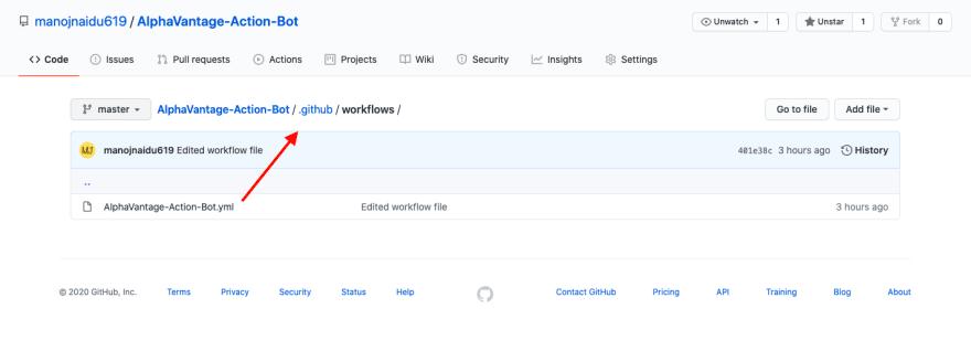 Wokflow file path