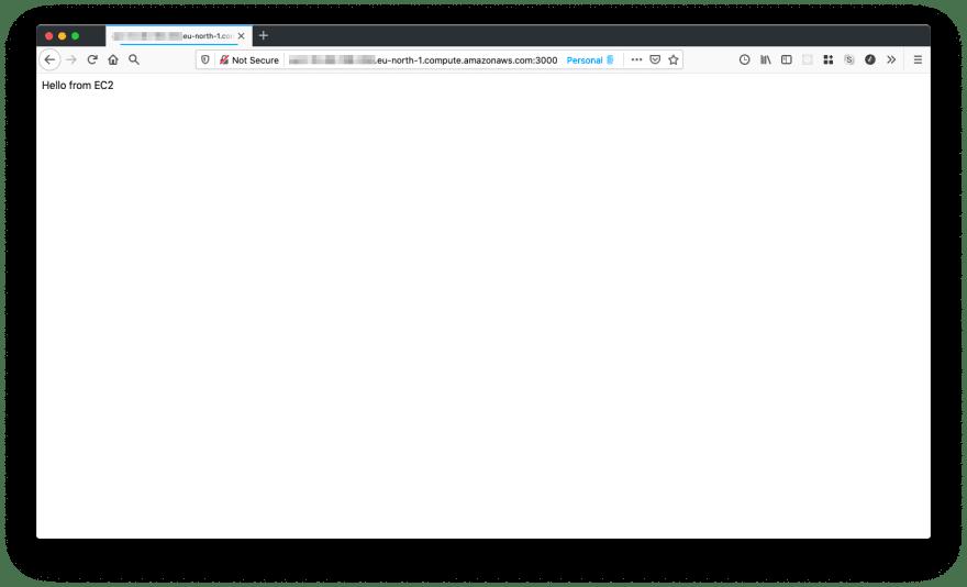 instance DNS