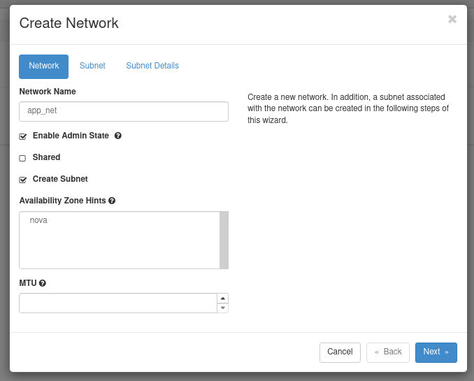 New Network Definition