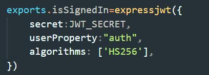 signedIn middleware
