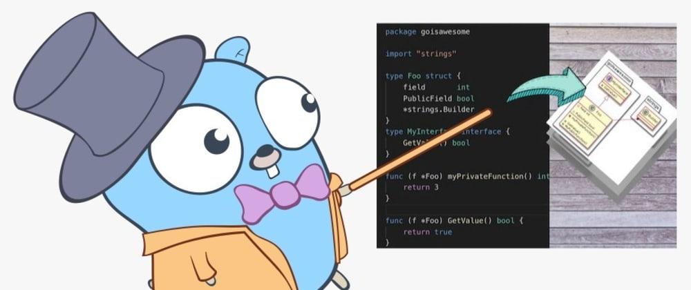 Cover image for Converting your GitHub.com public GoLang repo into a class diagram