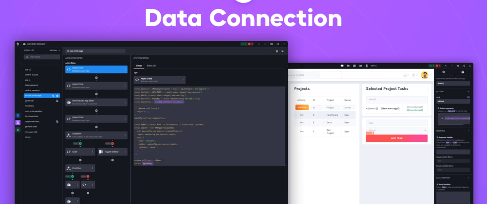 Cover image for Data Connection in UI Bakery Low-Code Platform, Finally!
