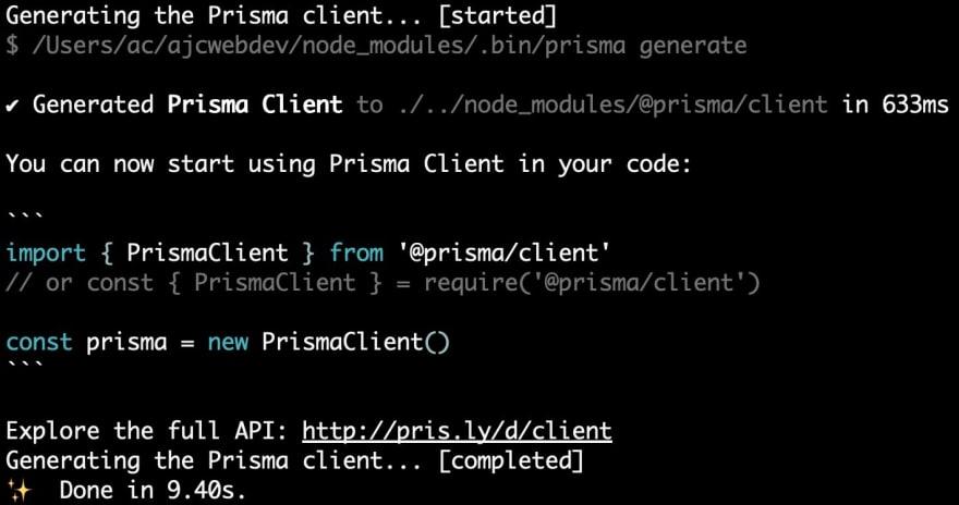 16-generating-prisma-client