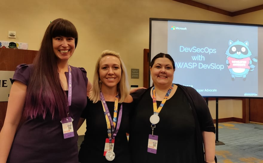 Larci Robertson, and Xena Olsen, WoSEC chapter leaders of Dallas andChicago