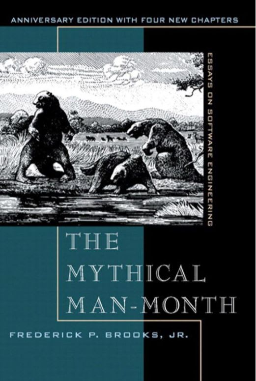 The Mythical Man-Month: Essays on Software Engineering by Frederick P. Brooks