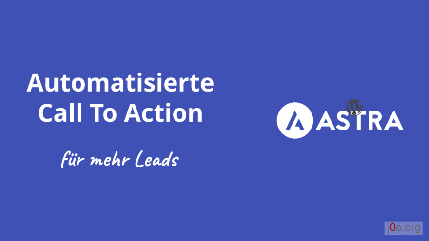Automatisierte Call to Action