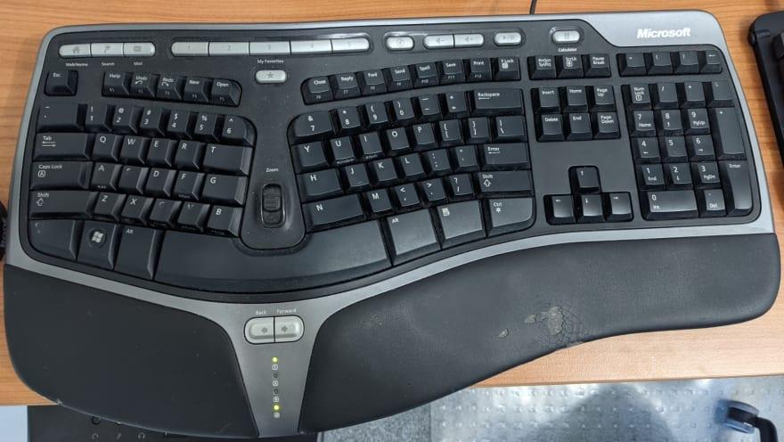 My Microsoft Natural 4000 keyboard