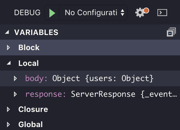 VSCode Sidebar Screenshot