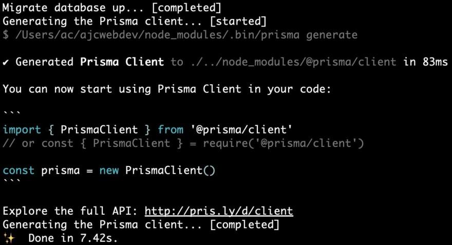 04-generate-Prisma-client