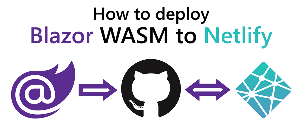 Cover image for How to deploy Blazor WebAssembly to Netlify