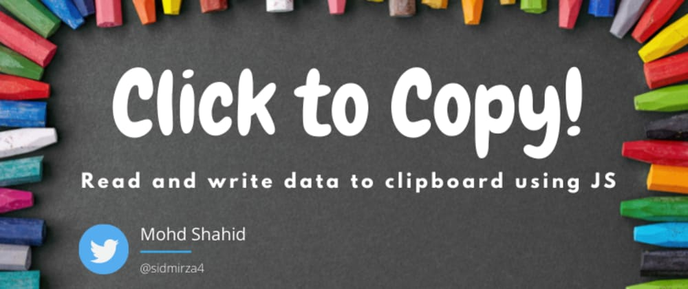 Cover Image for Click to Copy!