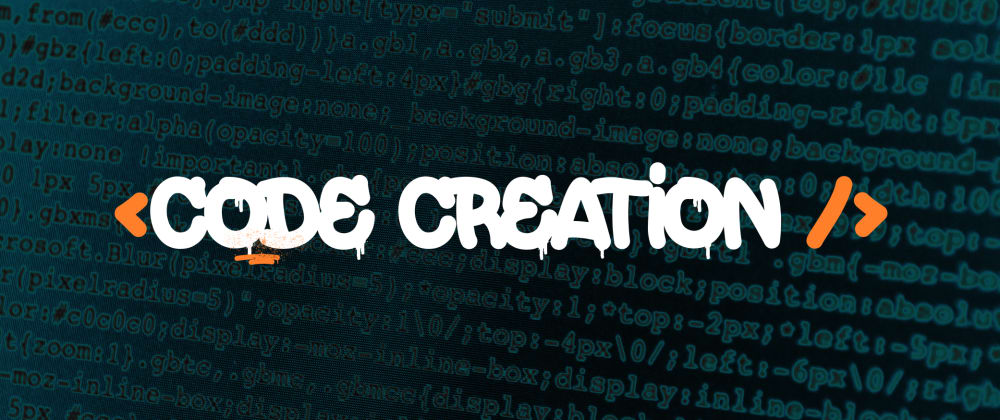 Cover image for Code creation, try it!