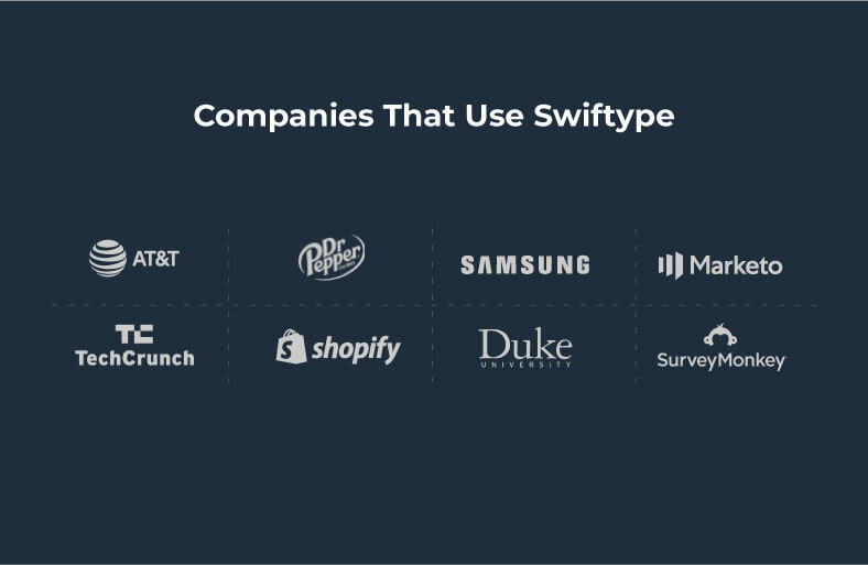 Companies That Use Swiftype