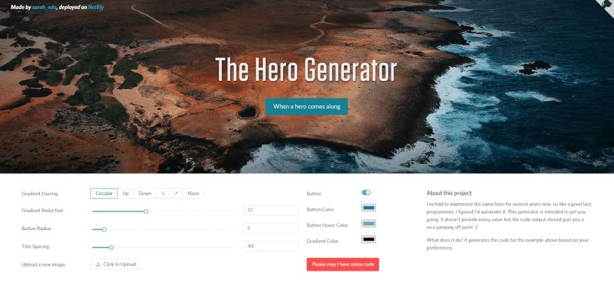 The Hero Generator