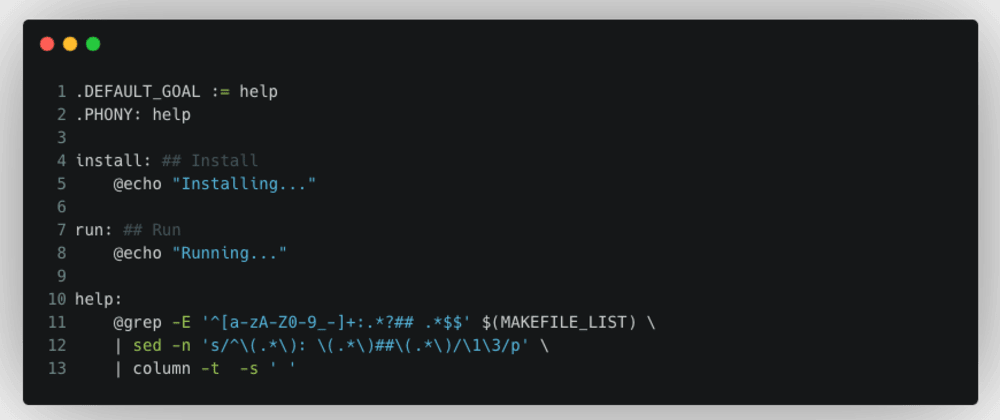 Cover image for TIL: How to list all the targets on a Makefile