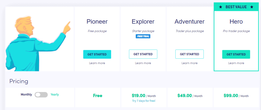 cryptohopper-pricing