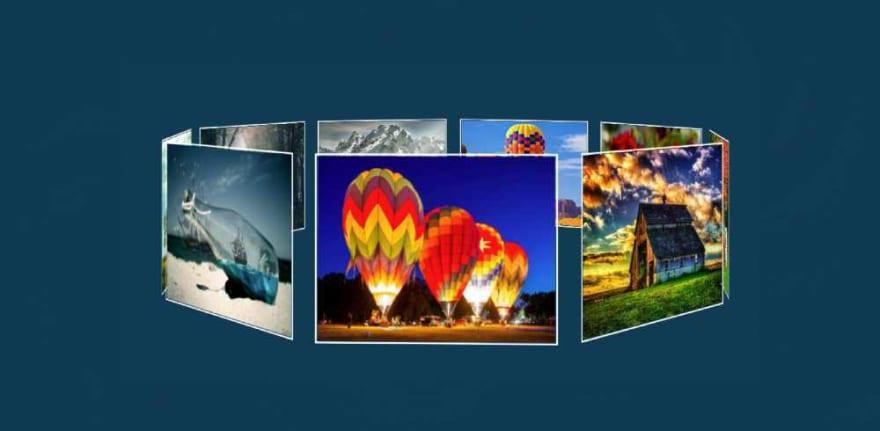 Automatic Image Slideshow using HTML & CSS
