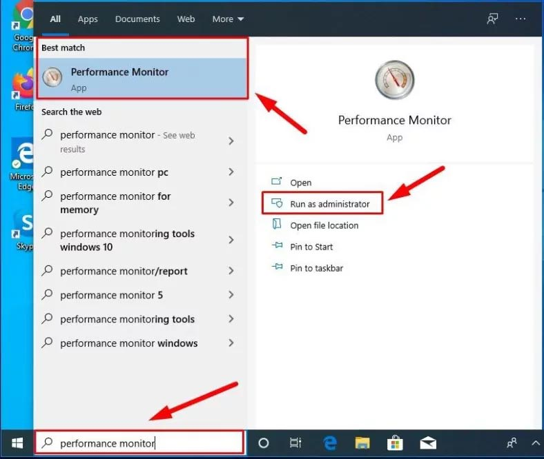 Type Performance Monitor